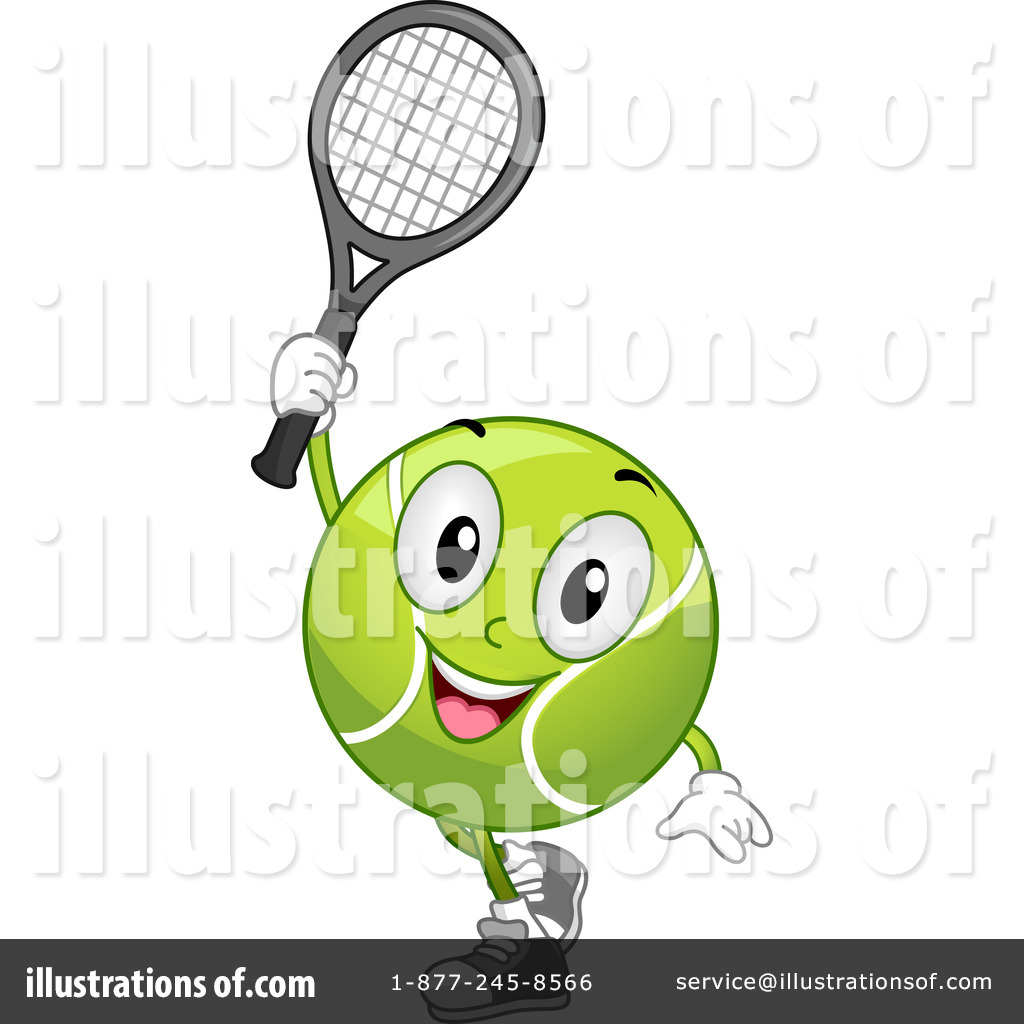 Royalty-Free (RF) Tennis Clipart Illustration #1097318 by BNP Design ...
