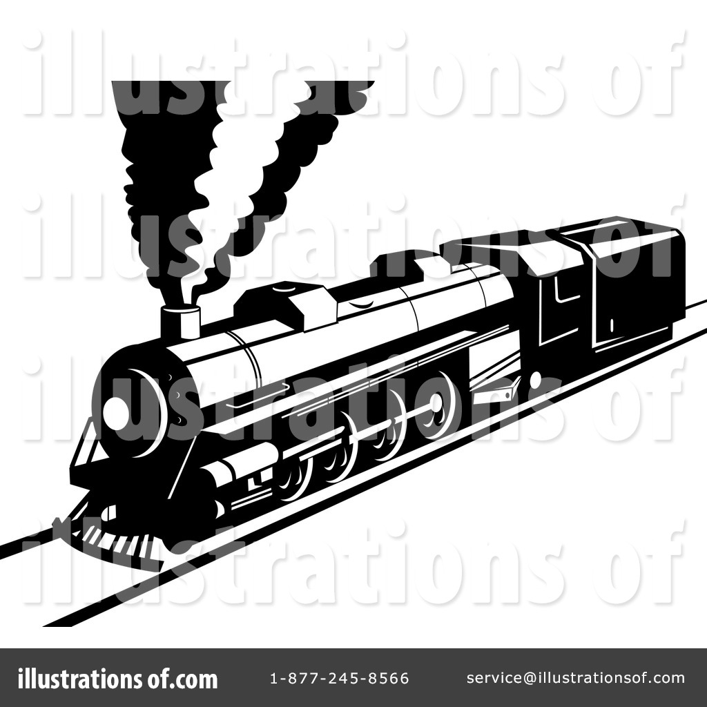 electric train clipart black and white - photo #37