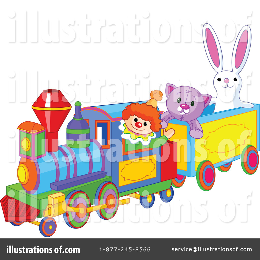 Royalty free rf train clipart illustration by pushkin stock sample