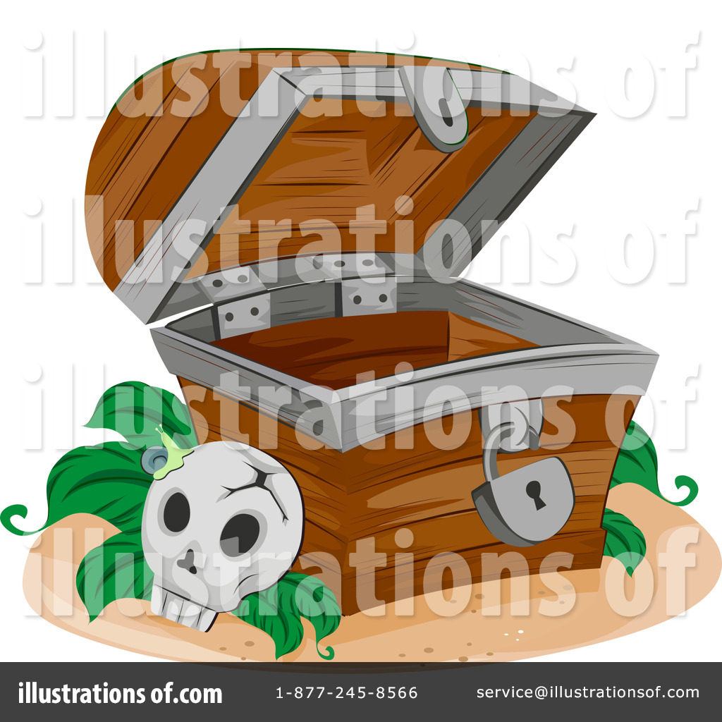 Treasure Chest Clipart #1070996 - Illustration by BNP Design Studio