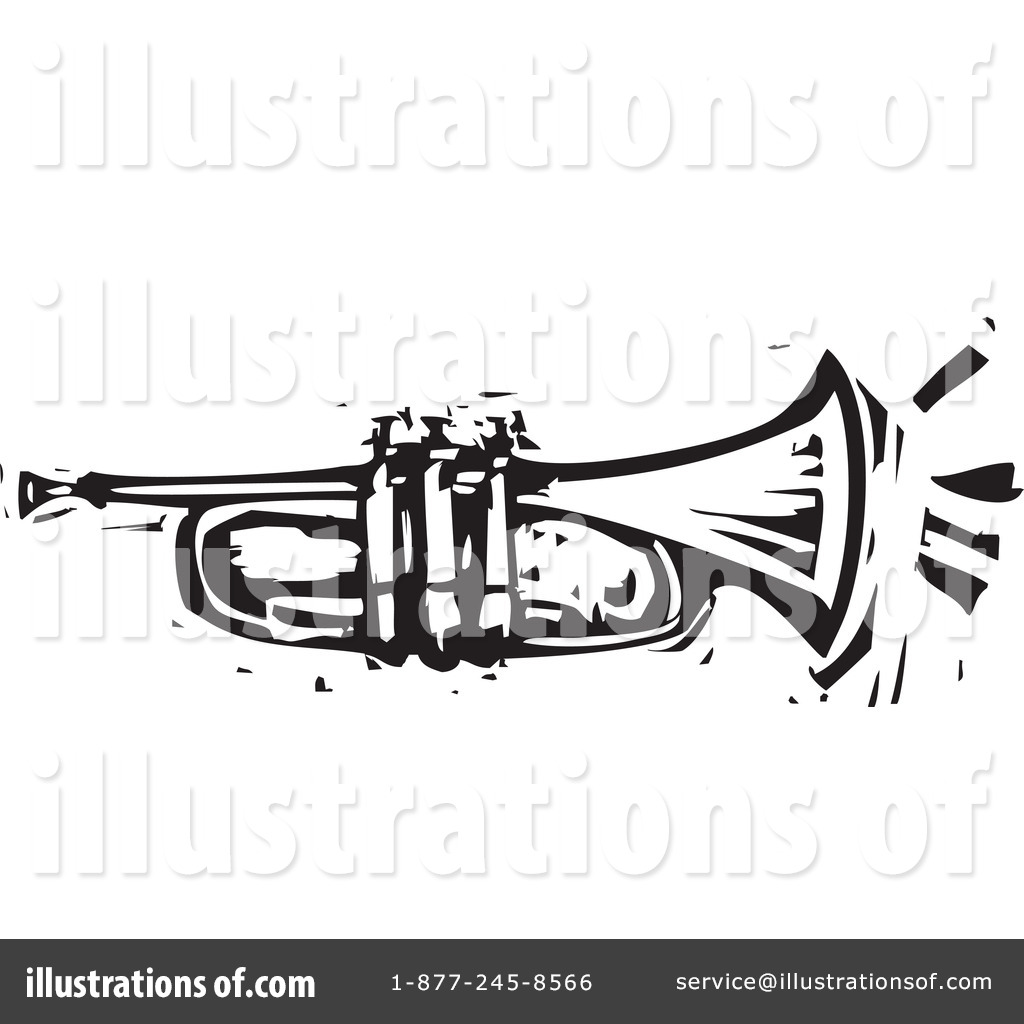 Trumpet Clipart #1057969 - Illustration by xunantunich