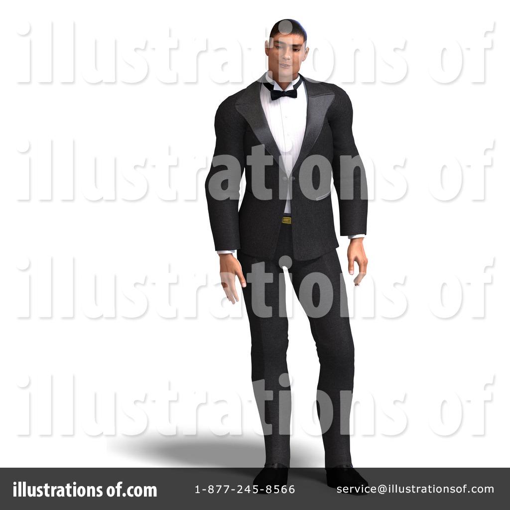 Tuxedo Clipart #1074166 - Illustration by Ralf61