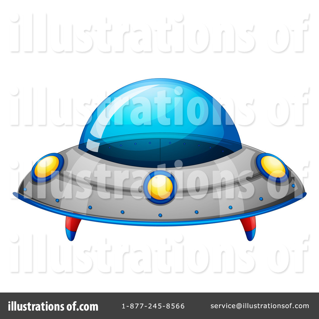 Royalty Free  RF  Ufo Clipart Illustration By Colematt   Stock Sample