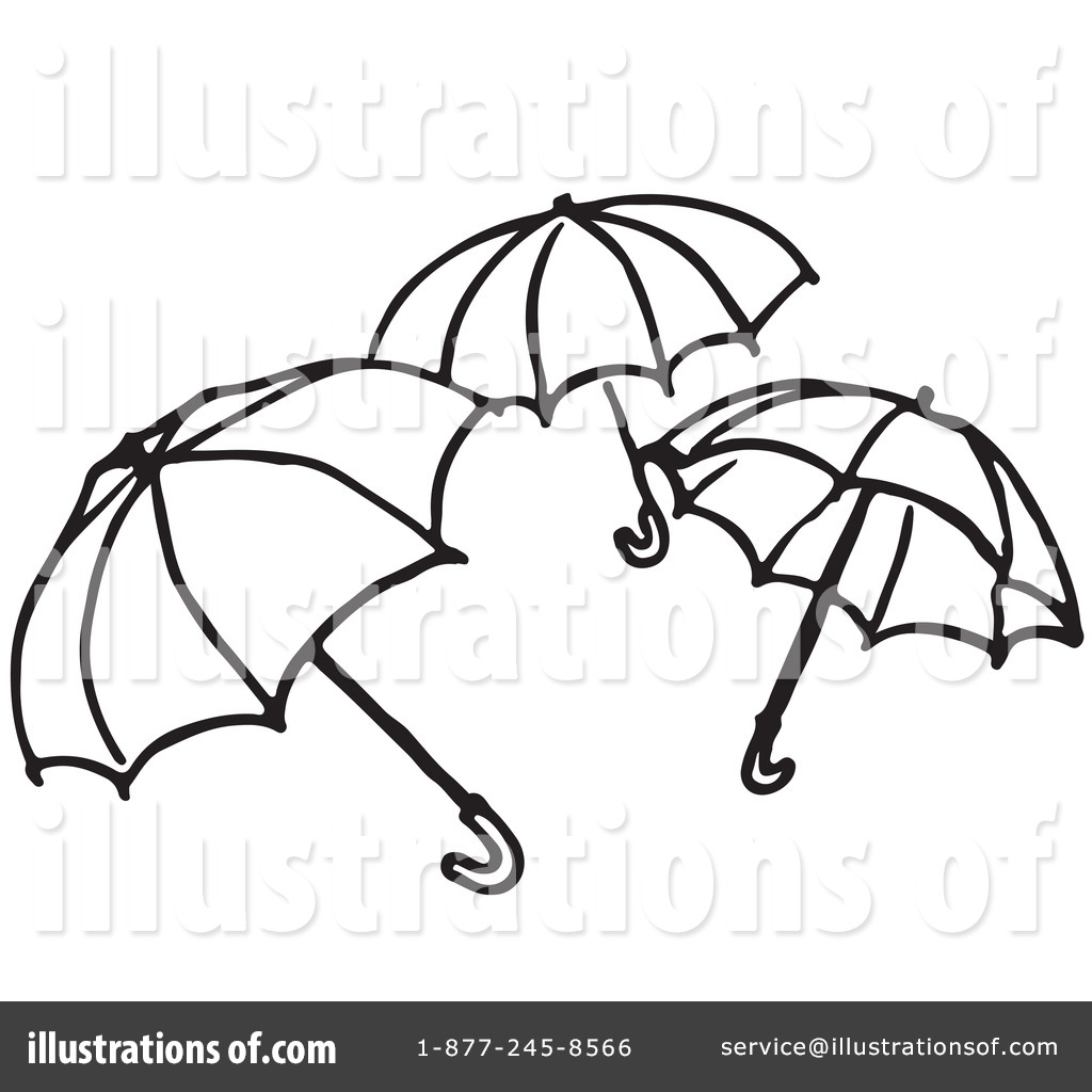 Royalty free rf umbrella clipart illustration 1221050 by picsburg