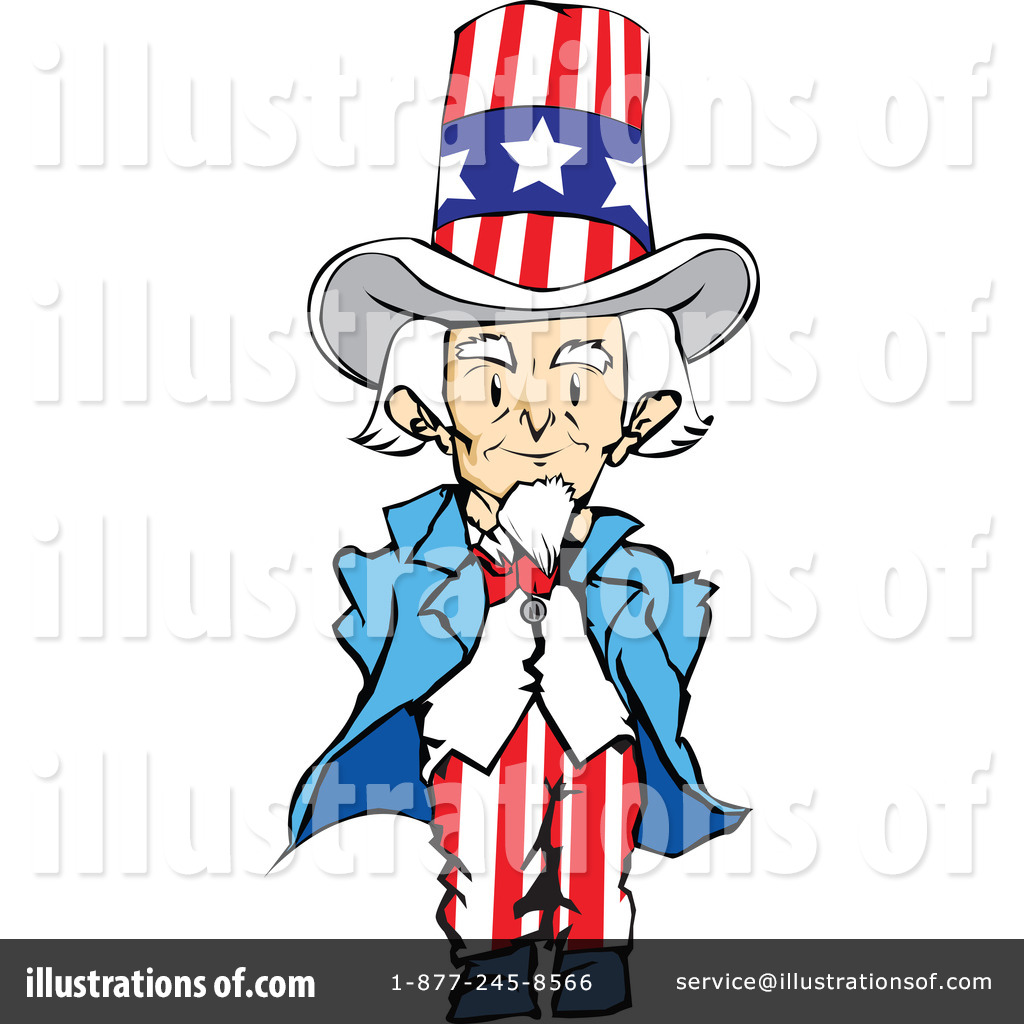 Uncle Sam Clipart #31544 - Illustration by PlatyPlus Art