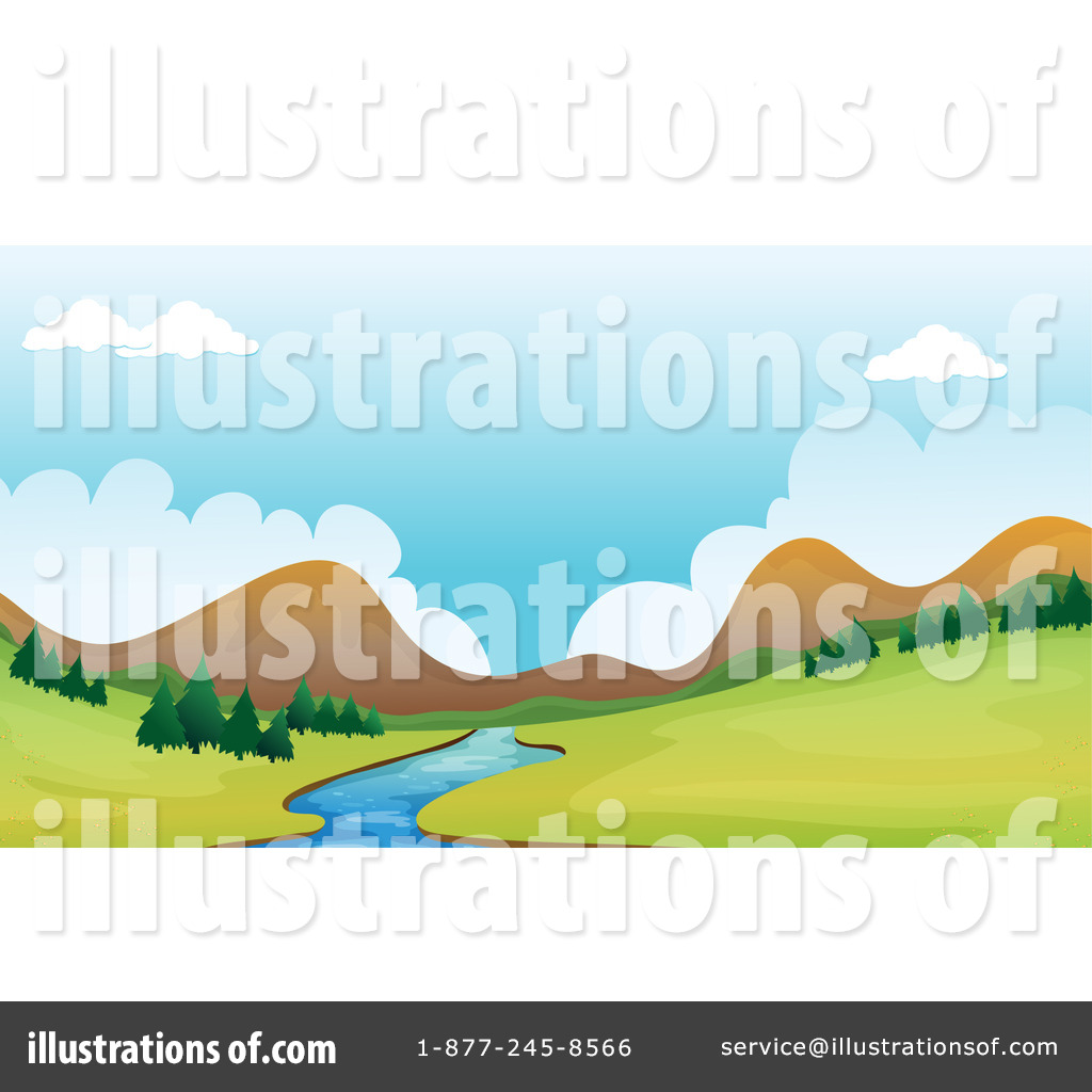 Valley Clipart #116721...