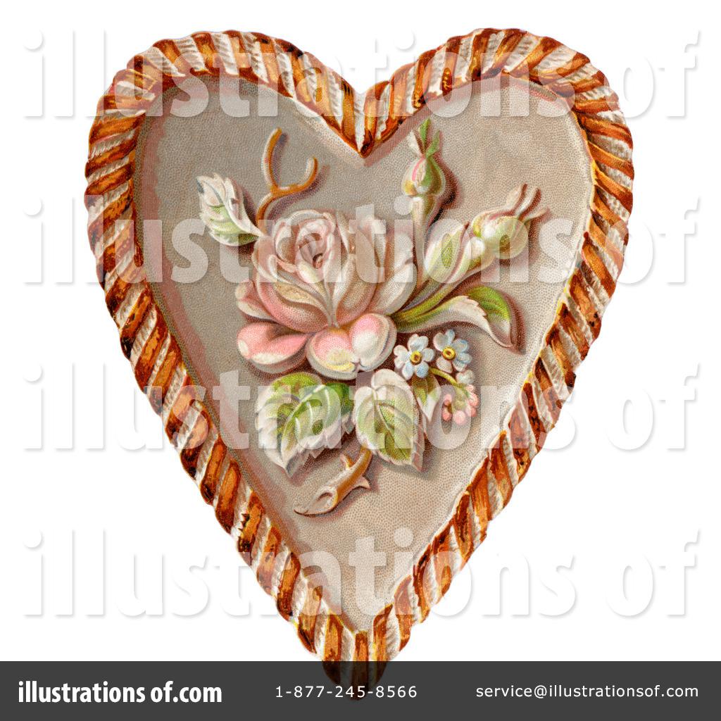 Victorian Valentine Clipart #28815 - Illustration by OldPixels