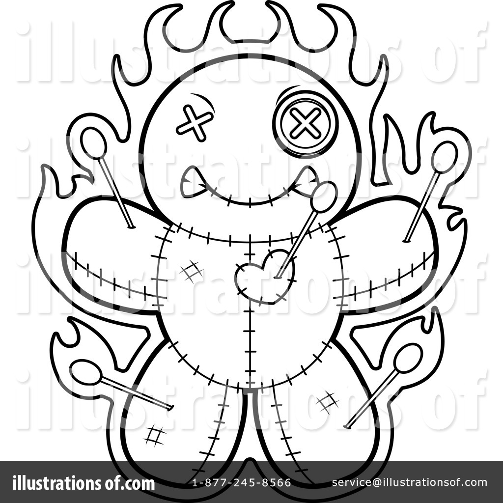 Magic Clip Dolls Coloring Pages