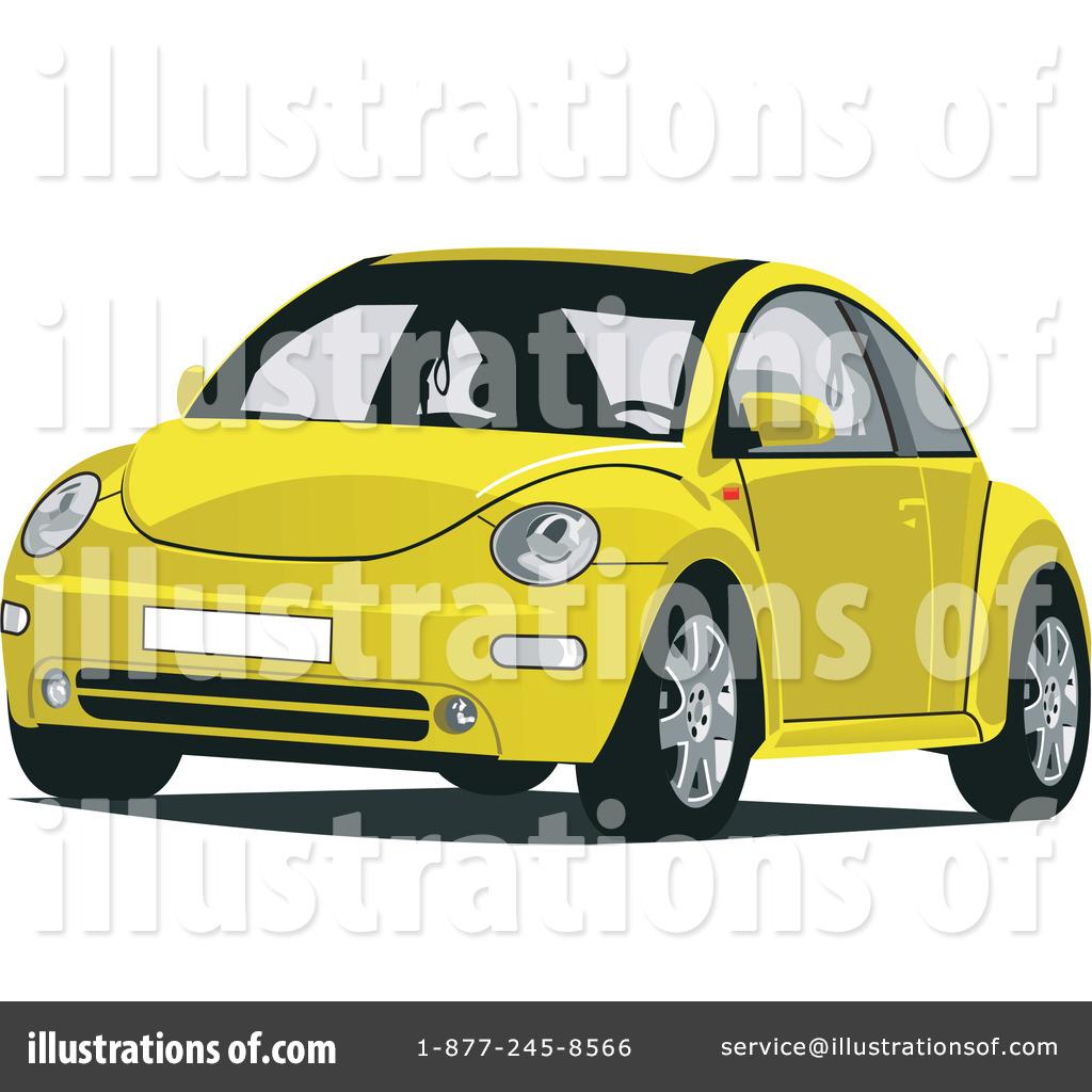 Vw Bug Clipart #32729 - Illustration by David Rey