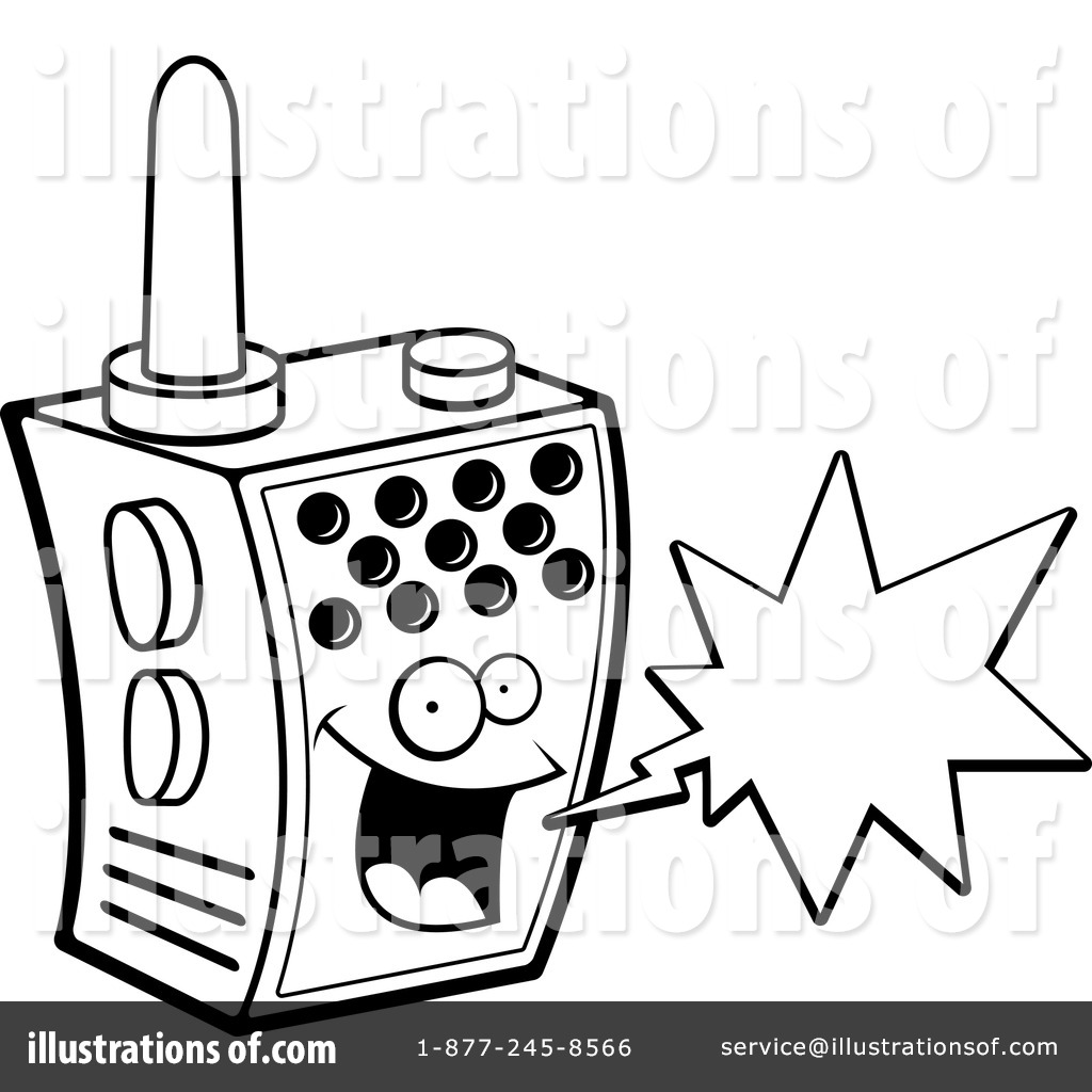 walkie talkie clipart  1151469