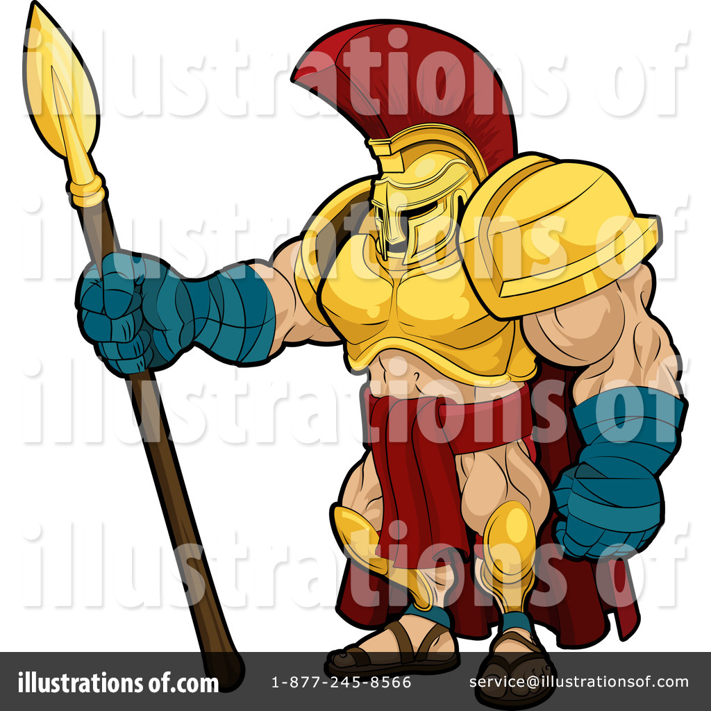 Warrior Clipart #28948 - Illustration by AtStockIllustration