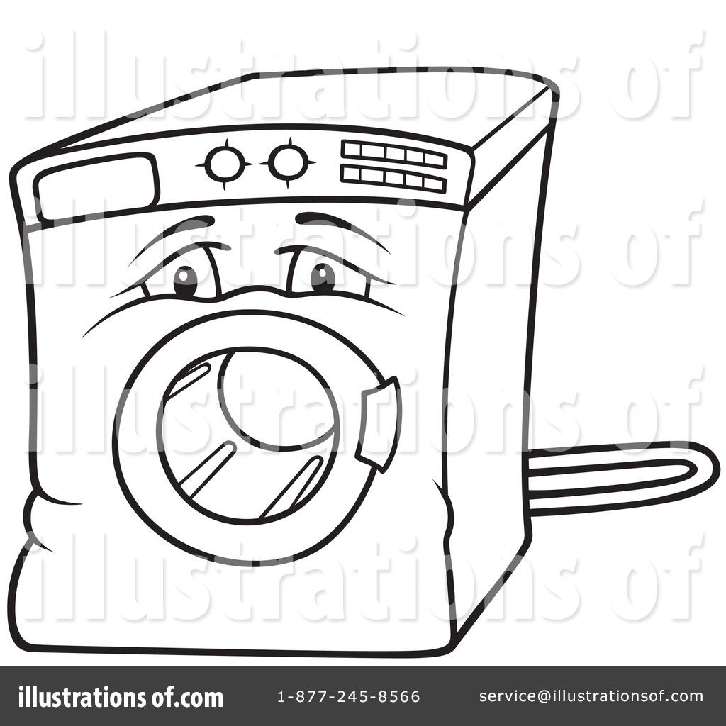 washing machine clipart  1051484