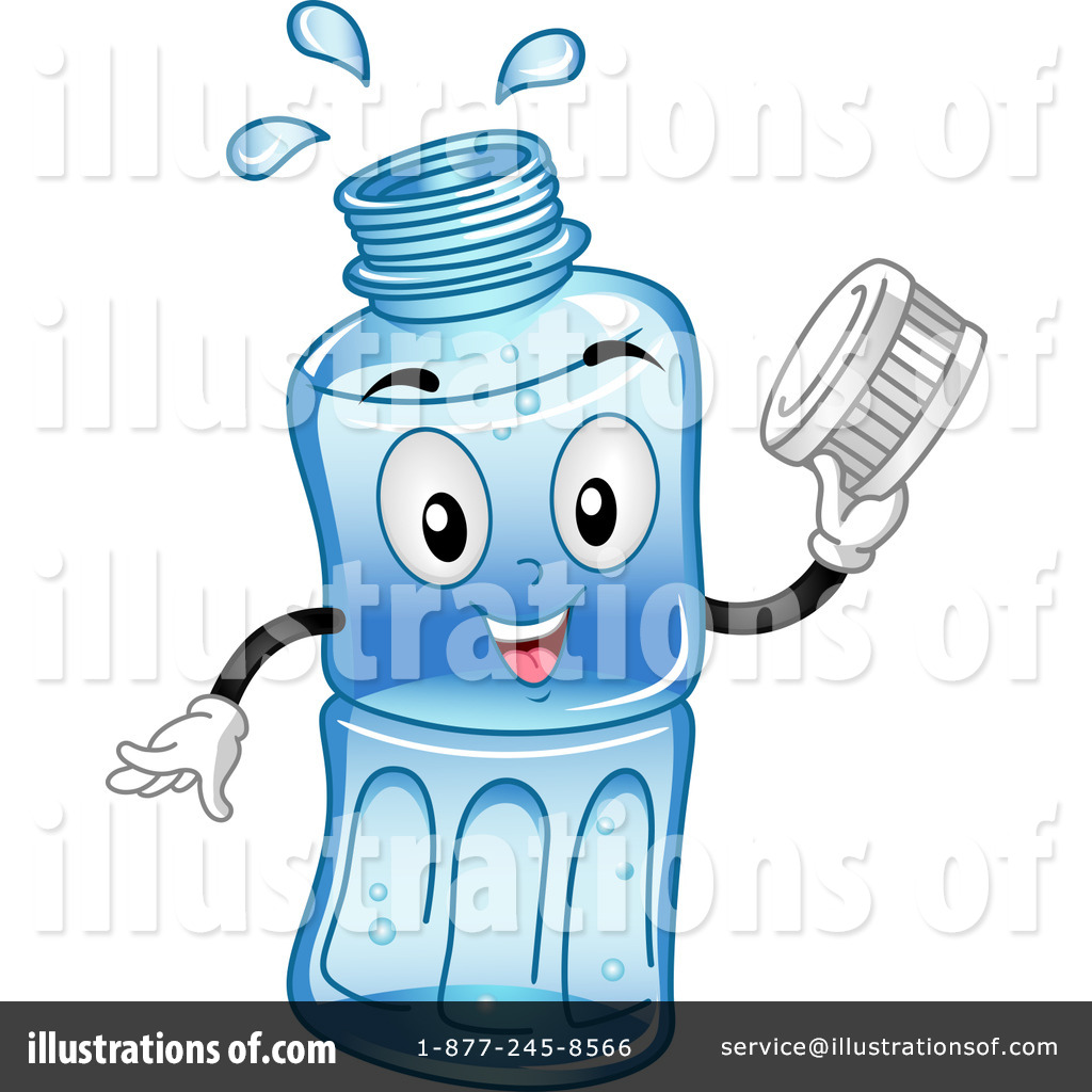 Royalty-Free (RF) Water Bottle Clipart Illustration #1108988 by BNP ...
