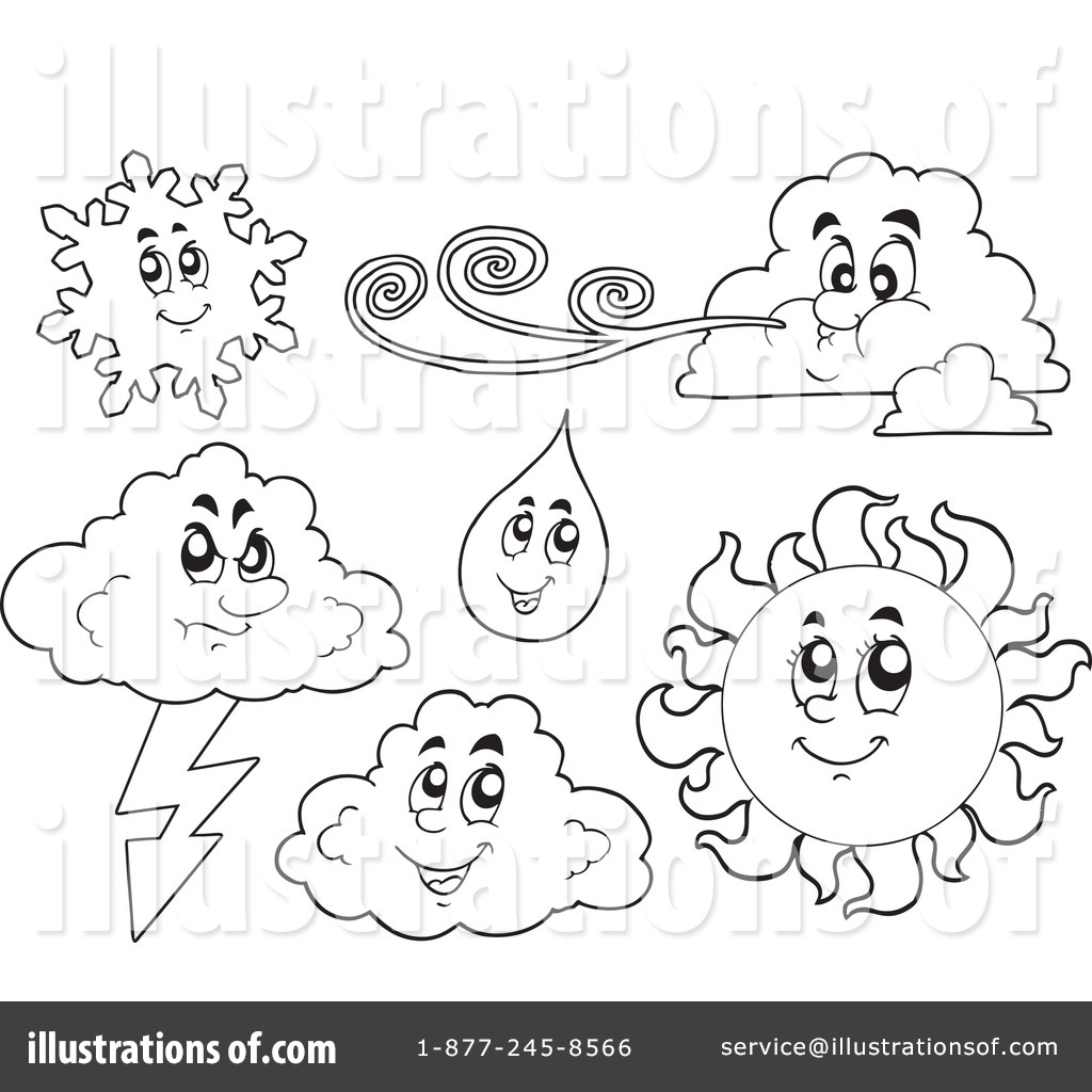 Royalty-Free (RF) Weather Clipart Illustration by visekart - Stock ...