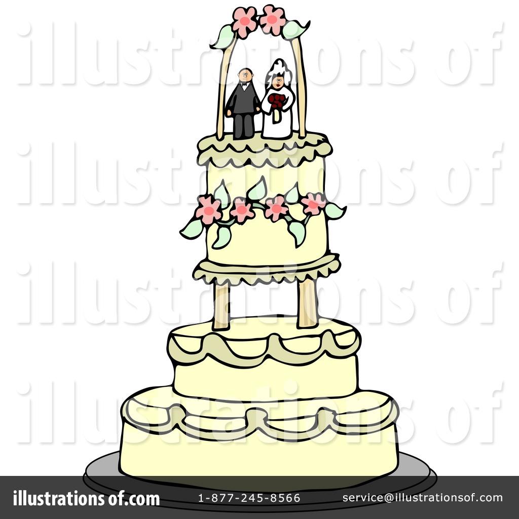 Wedding Cake Clipart 33543 Illustration by djart
