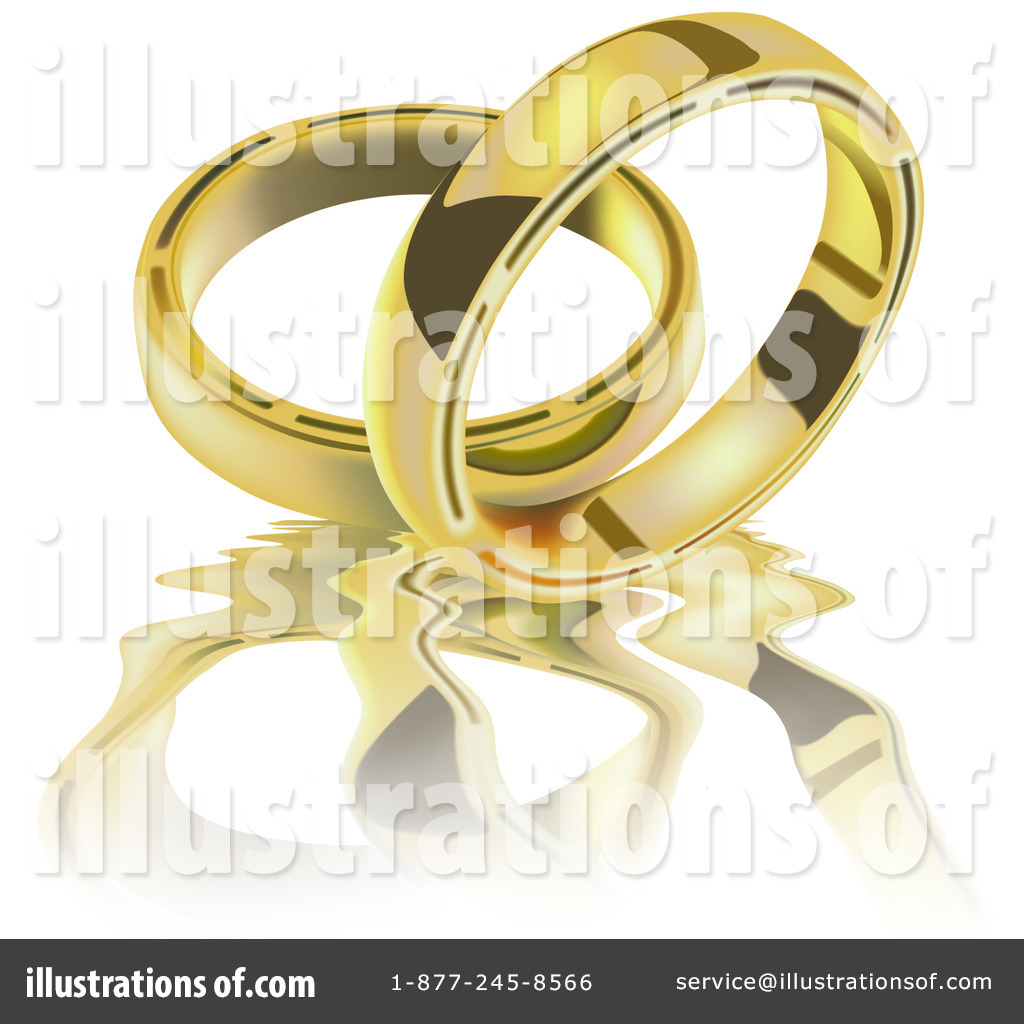 Wedding Ring Clipart 35721 Illustration By Dero