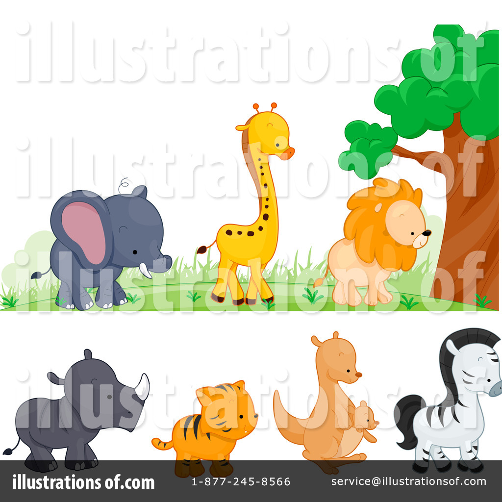 Free wild animals clipart