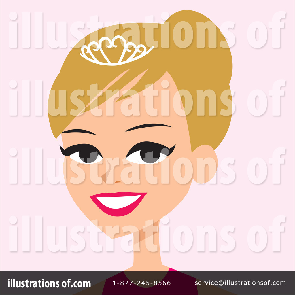 -Free (RF) Woman Clipart Illustration by Monica - Stock Sample #61734