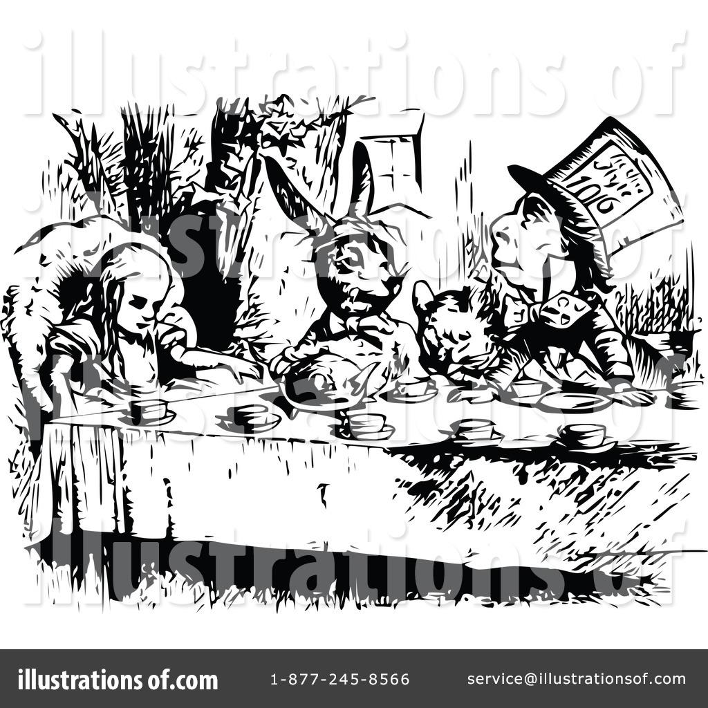 Wonderland Clipart #1112645 - Illustration by Prawny Vintage