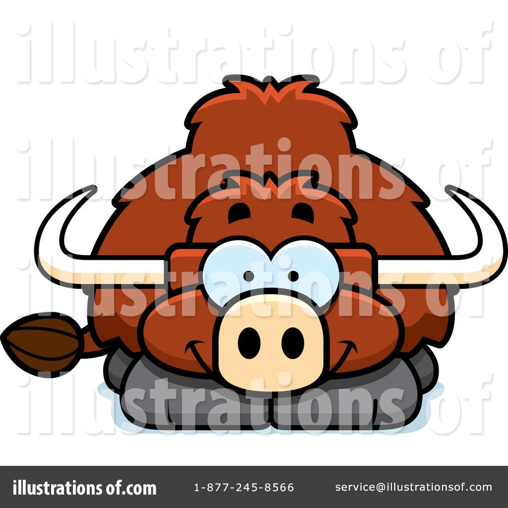 Yak Clipart #1098219 - Illustration by Cory Thoman