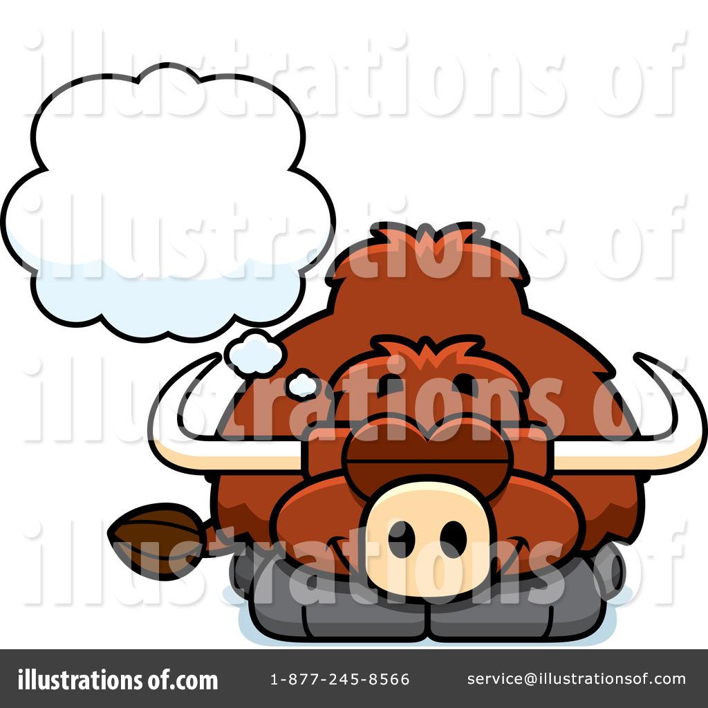 Yak Clipart #1098321 - Illustration by Cory Thoman