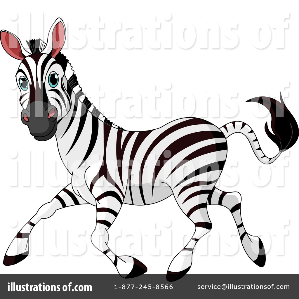 Royalty-Free (RF) Zebra Clipart Illustration by Pushkin - Stock Sample ...