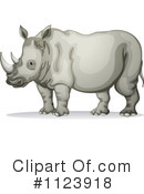 Rhino Clipart #1123918 by Graphics RF