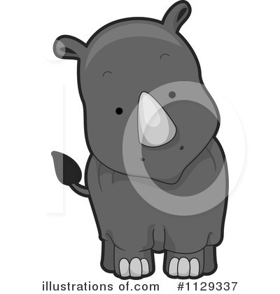 Rhino Clipart #1129337 by BNP Design Studio