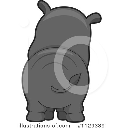 Rhino Clipart #1129339 by BNP Design Studio
