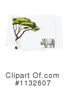 Rhino Clipart #1132607 by Graphics RF