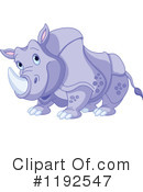 Rhino Clipart #1192547 by Pushkin