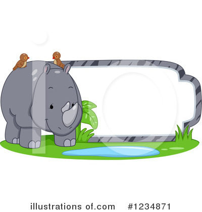 Zoo Animals Clipart #1234871 by BNP Design Studio