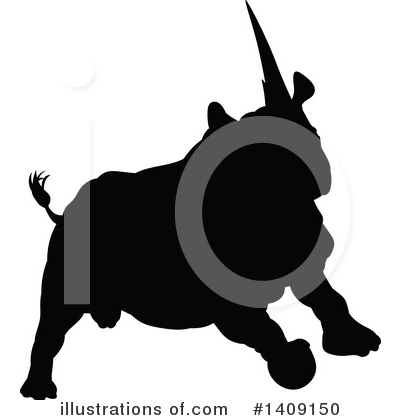 Rhino Clipart #1409150 by AtStockIllustration