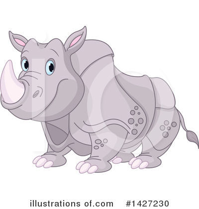 Rhino Clipart #1427230 by Pushkin