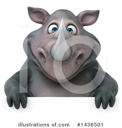 Rhino Clipart #1436501 by Julos