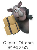 Rhino Clipart #1436729 by Julos