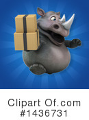 Rhino Clipart #1436731 by Julos