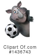 Rhino Clipart #1436743 by Julos