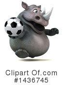 Rhino Clipart #1436745 by Julos