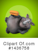 Rhino Clipart #1436758 by Julos