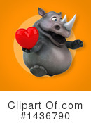 Rhino Clipart #1436790 by Julos