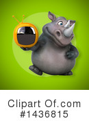 Rhino Clipart #1436815 by Julos