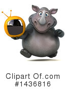 Rhino Clipart #1436816 by Julos