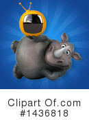 Rhino Clipart #1436818 by Julos