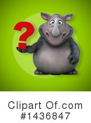 Rhino Clipart #1436847 by Julos