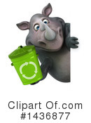 Rhino Clipart #1436877 by Julos