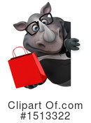 Rhino Clipart #1513322 by Julos