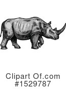 Rhino Clipart #1529787 by Vector Tradition SM