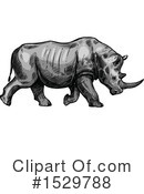 Rhino Clipart #1529788 by Vector Tradition SM