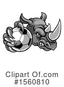 Rhino Clipart #1560810 by AtStockIllustration